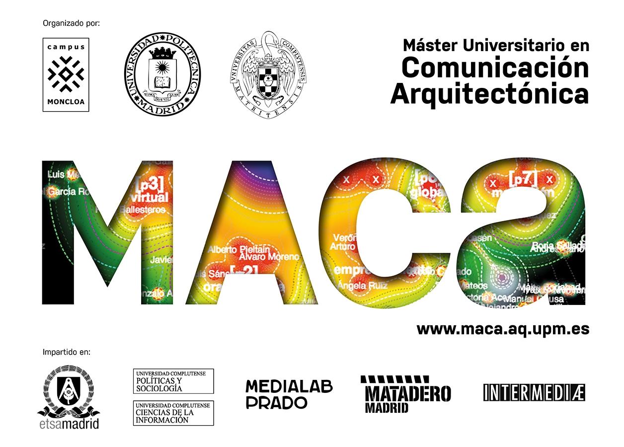 MACA máster comunicación arquitectónica arquitectura 2016 etsam