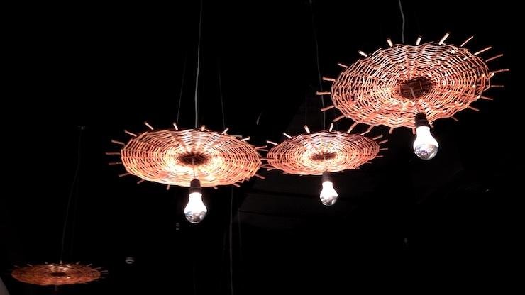 Uno de los modelos de lámpara que Laura Alandes escogió para acercarnos a Birmania