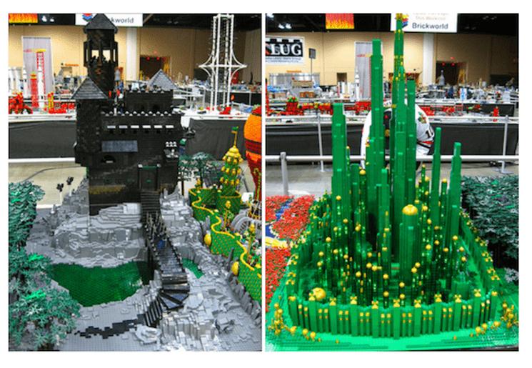 Lego mago de oz