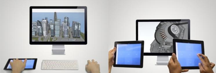 Manejar tu software 3D con el iPad es sencillo usando esta app