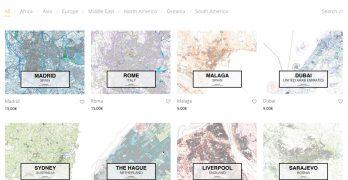 Mapacad planos ciudades dwg