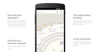 Observa plantas de edificios en los Mapas Interiores de Google Maps