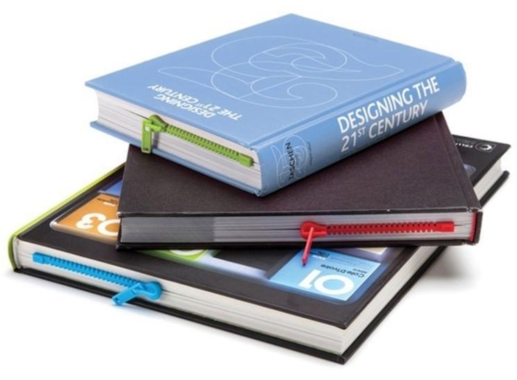 Marca páginas cremallera. Abre tu libro por la página correcta