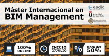 Máster online en BIM management de EADIC y URJC