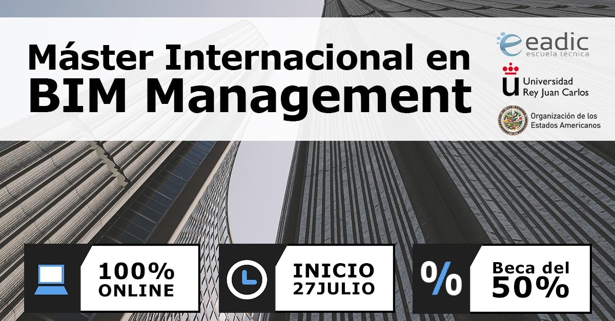 Master online en BIM management