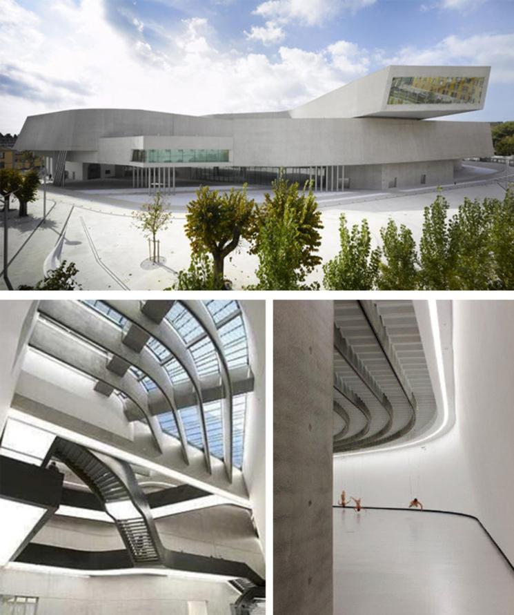 MAXXI - Museo Nacional de Arte del Siglo XXI de Roma - Zaha Hadid - (1.998)