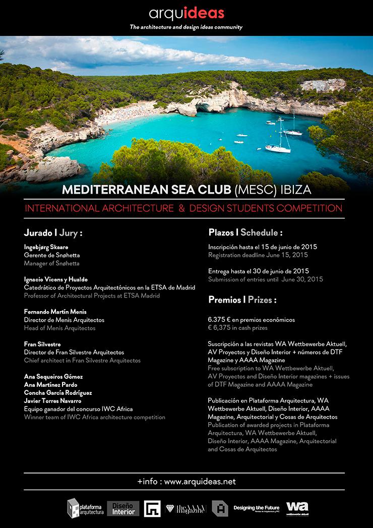 Meditarranean Sea Club Ibiza concurso arquideas