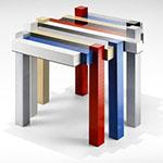 Histogram 2.0, una mesa de Lego © que puedes construir tu mismo