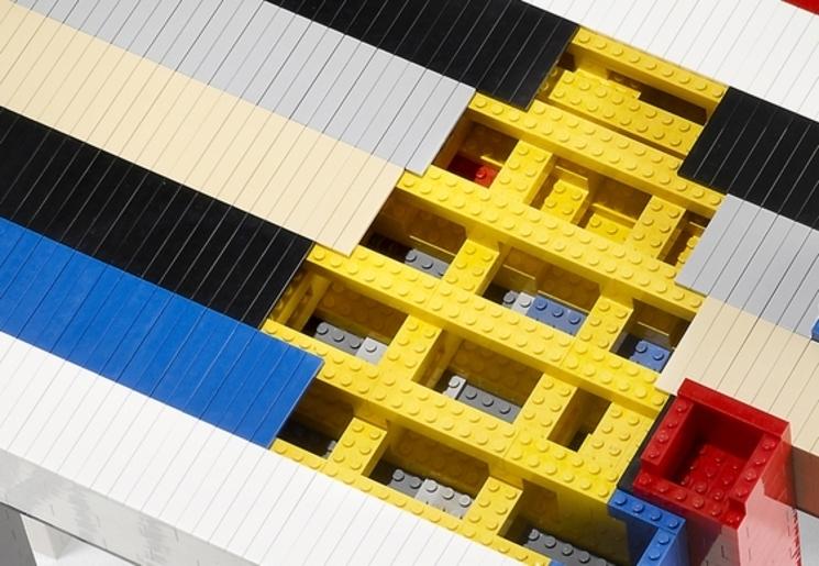 Histogram - Mesa de Lego