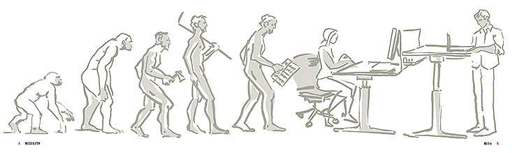 mesa para arquitectos mobility actiu
