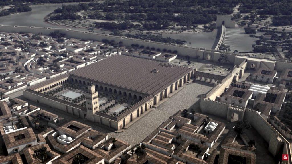 La Mezquita de Córdoba y otras reconstrucciones en 3D realizadas por Grégoire Valayer