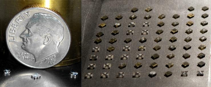 Micro-robots para fabricación inteligente de objetos 3D