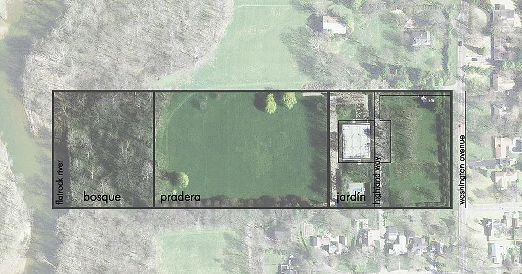 Mies-Saarinen-18-Planta-general-jardin-Miller
