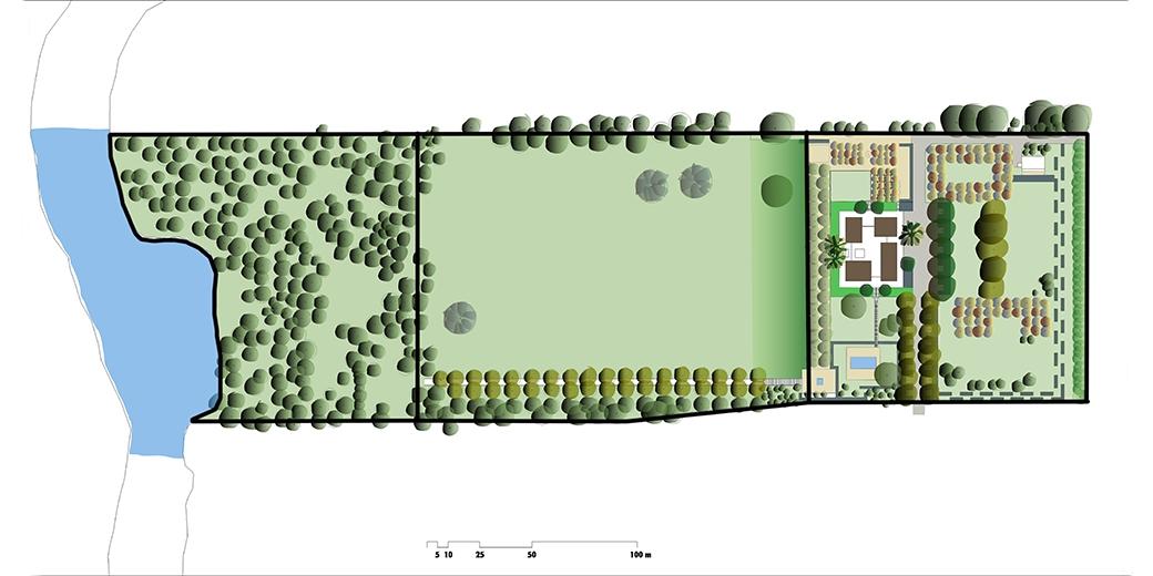 Mies-Saarinen-19-Planta-general-parcela-Miller