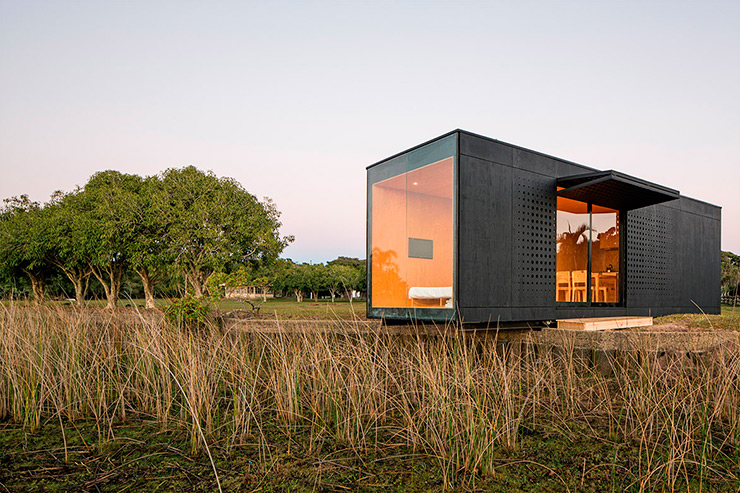 Minimod vivienda prefabricada minimalista