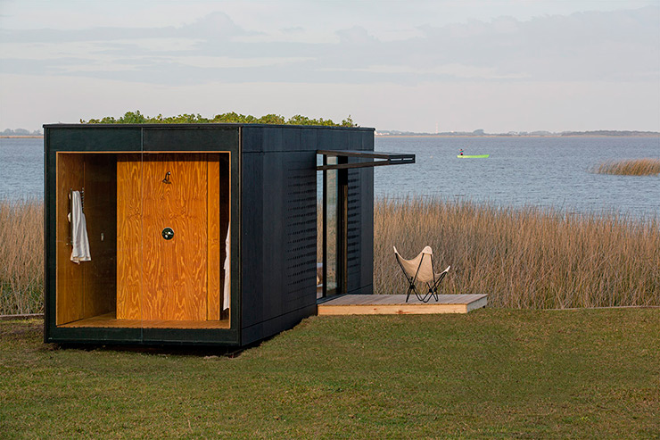 Vivienda prefabricada minimalista minimod for Casa rural minimalista