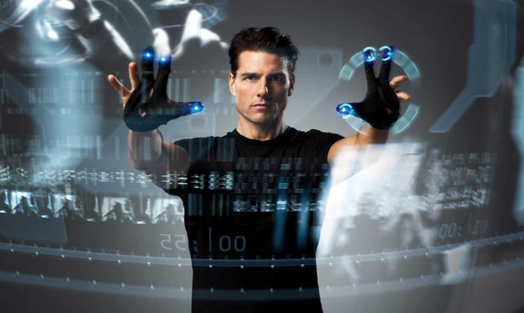 Interface en Minority Report