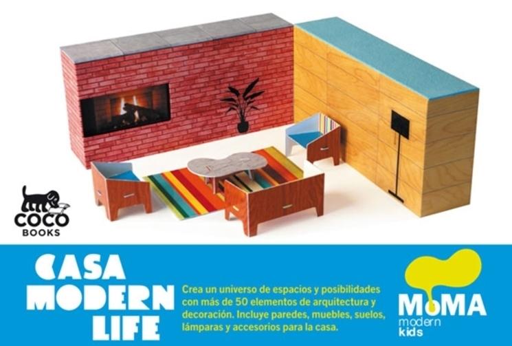 Libro Juego Casa Modern Life Del Moma Para Ninos Que Quieren Ser