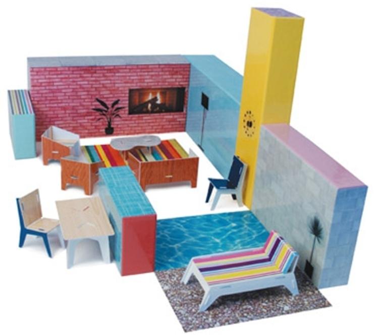 Libro-Juego Casa Modern Life del MoMA para niños que quieren ser arquitectos
