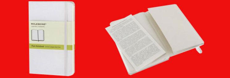 Moleskine blanco el nuevo color para tu cuaderno