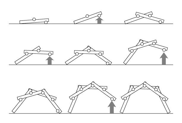 Montaje Puente Autoportante