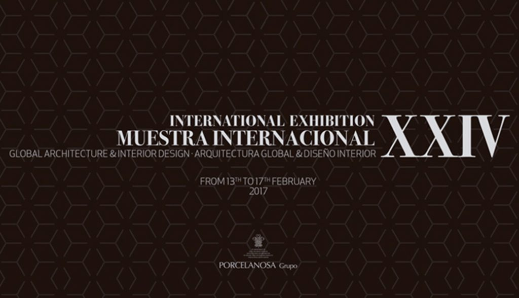 Muestra internacional Porcelanosa 2017