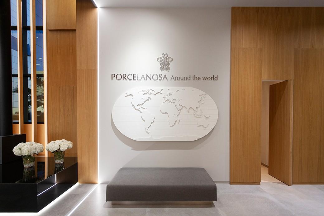 Muestra internacional de Porcelanosa