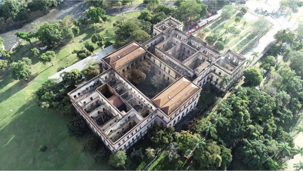 Un paseo virtual por el Museo Nacional de Brasil antes del incendio que sabe a poco