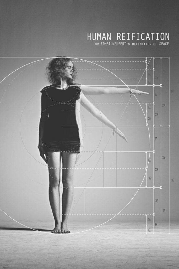 Paul y la cosificación humana para medir la arquitectura