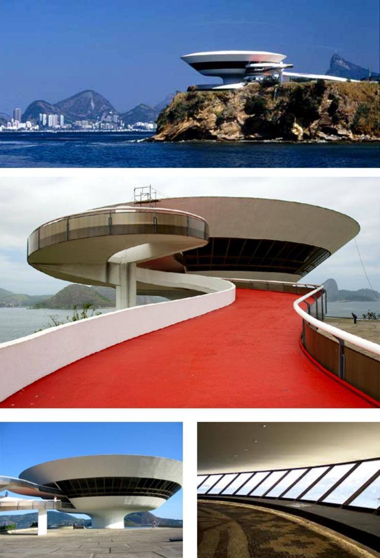 Museo de Arte Contemporáneo de Niteroi - Oscar Niemeyer - (1.996)