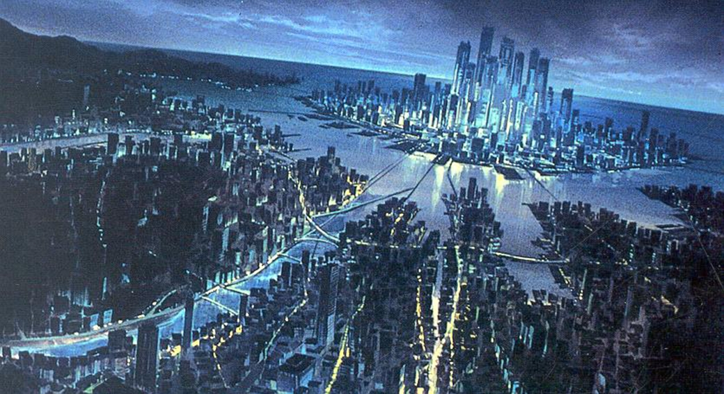 Nube urbana colectividad urbana