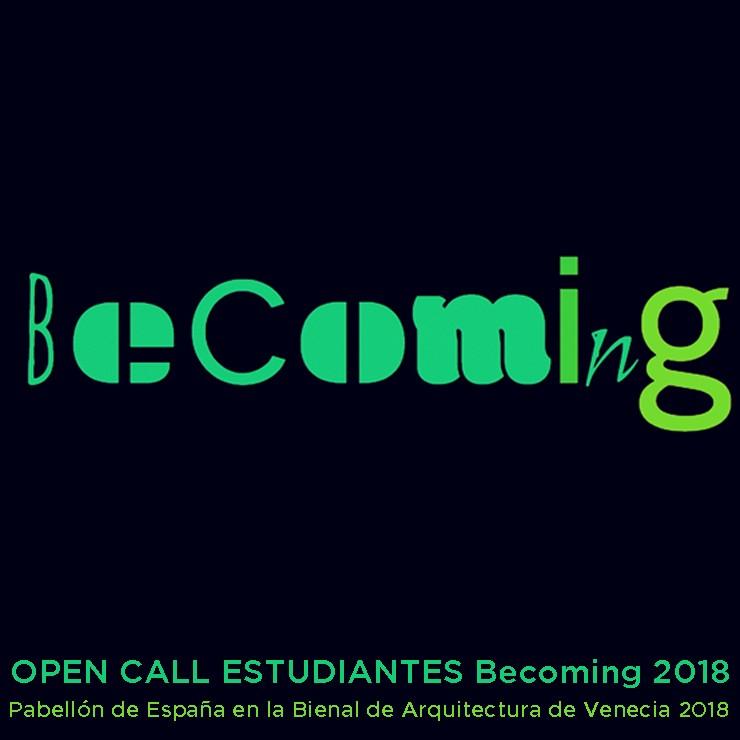 BECOMING -o el devenir de la arquitectura- Pabellón de España de la Bienal de Arquitectura de Venecia 2018