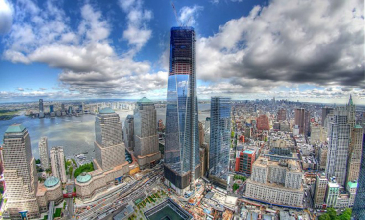 time-lapse de la construcción del One World Trade Center