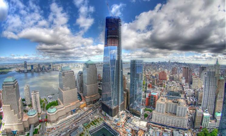 time-lapse de la construcción del One World Trade Center