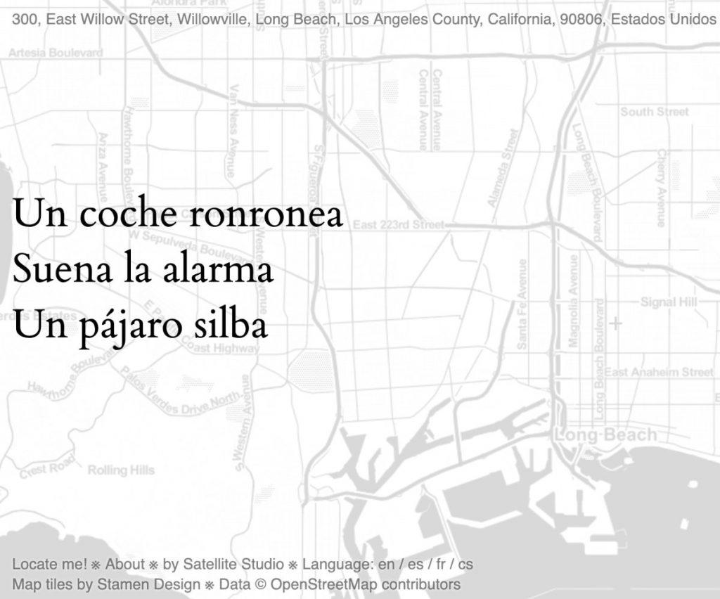 OpenStreetMap Haiku Los Angeles