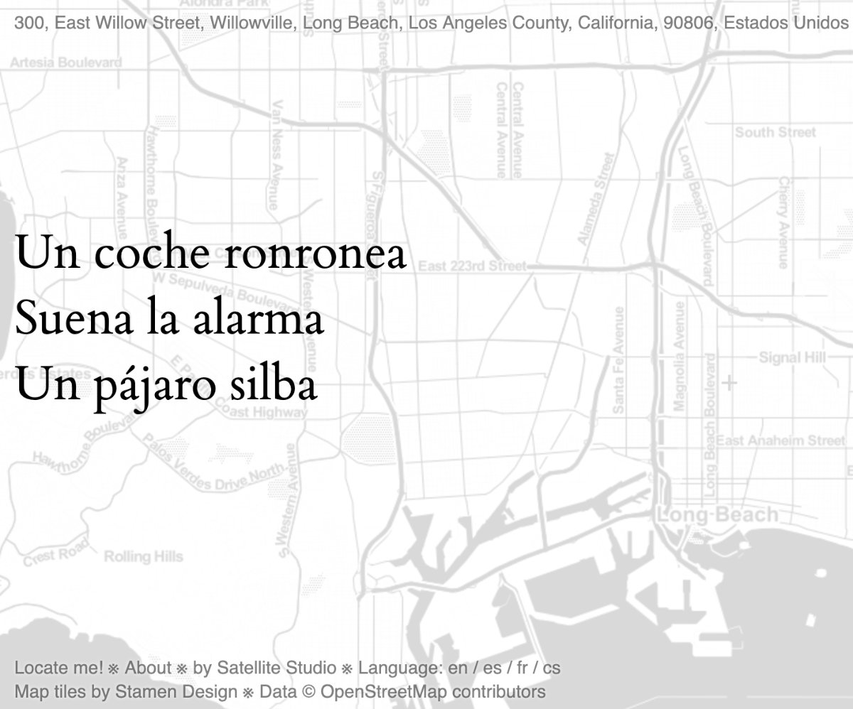 OpenStreetMap Haiku Los Angeles