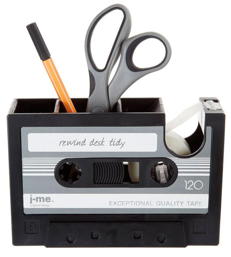 cassette ordena mesa
