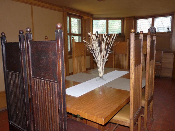 Casa-Estudio F.Ll.Wright - Oak Park - Comedor