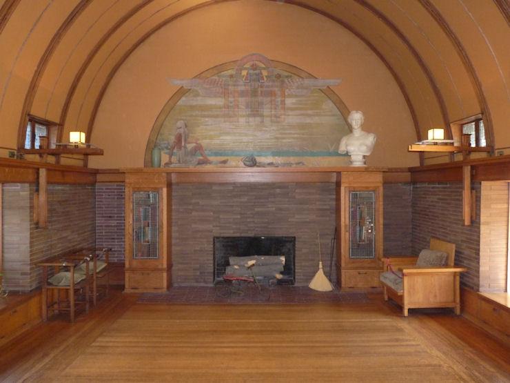 Casa-Estudio F.Ll.Wright - Oak Park - Salón