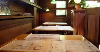 La Casa-Estudio de Frank Lloyd Wright en Oak Park (Illinois)