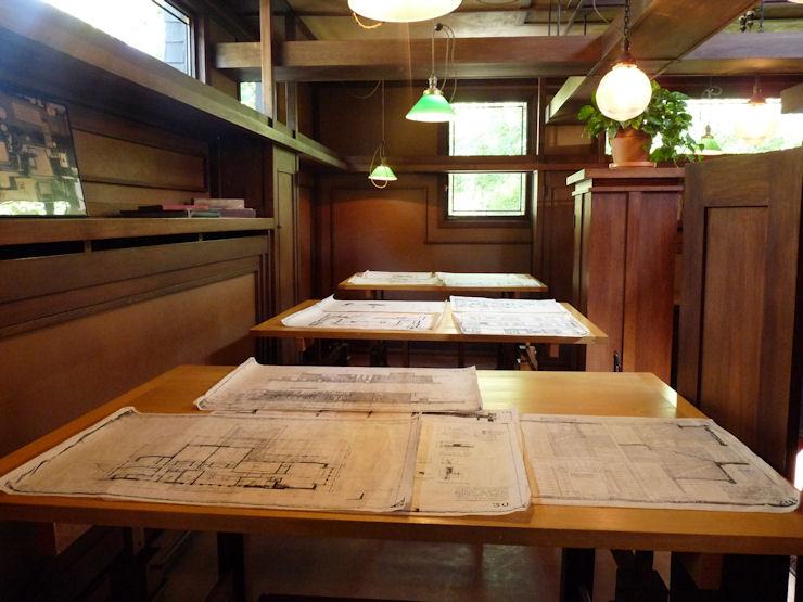 Casa-Estudio F.Ll.Wright - Oak Park - Estudio