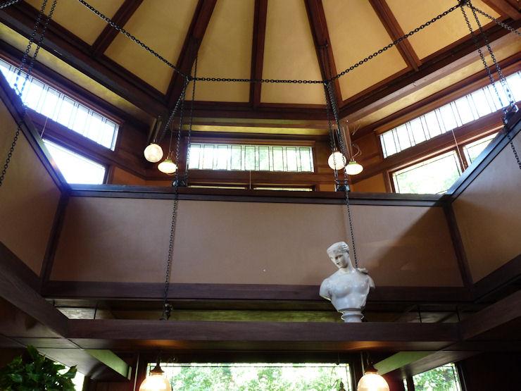 Casa-Estudio F.Ll.Wright - Oak Park - Cubierta del estudio