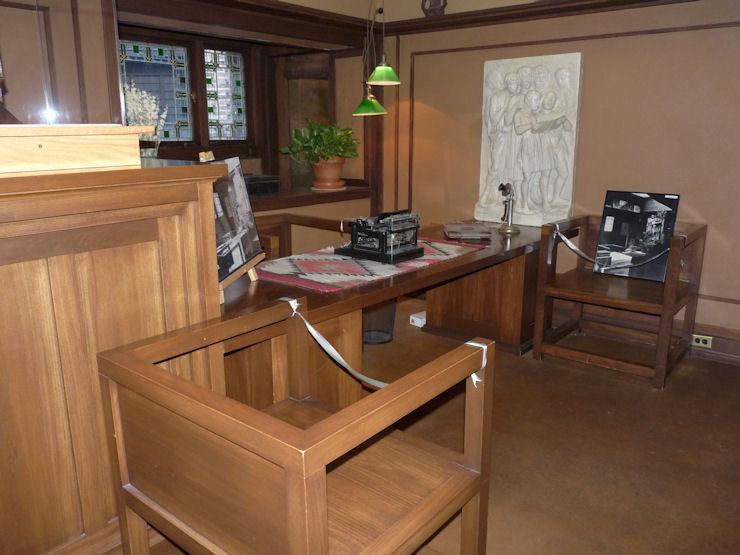 Casa-Estudio F.Ll.Wright - Oak Park - Despacho