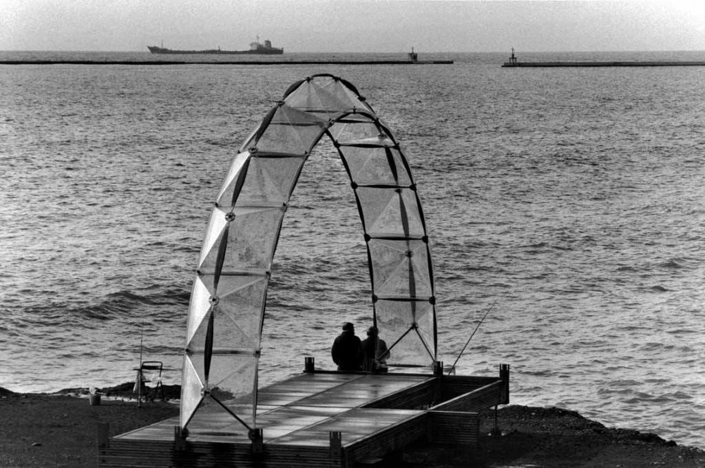 Padiglione Itinerante, Genova. 1982 Renzo Piano...