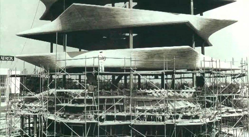 ¿Reconstruir la Pagoda de Fisac?