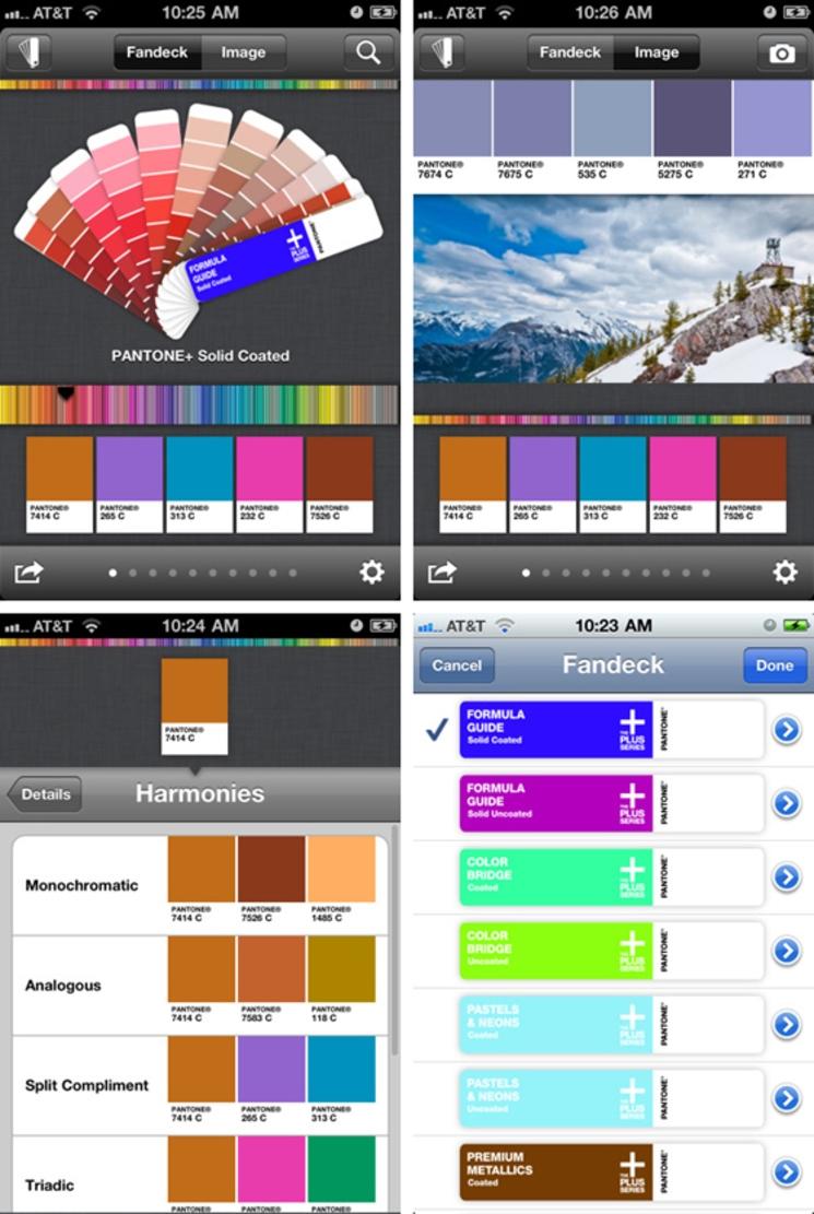 myPANTONE - Bibliotecas de colores PANTONE® en tu dispositivo móvil