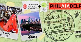 PhilAIAdelphia – Concurso de ideas para el diseño y construcción de un Stand en la convención del American Institute of Architects