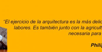 Philip Johnson ejercicio de la arquitectura agricultura