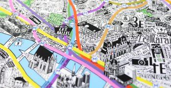 Planos dibujados, reflejo de la forma de vivir la ciudad
