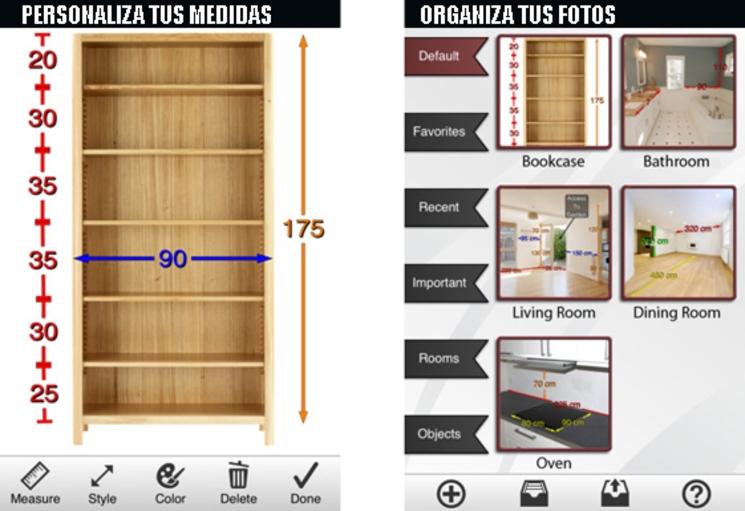 """app """"Foto Medidas"""" para guardar mediciones en tus fotografías"""